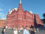 Studies abroad at National Research University Higher School of Economics UMTE, Moscow / Russia, State Historical Museum