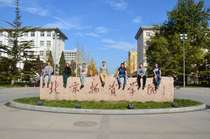 Studies abroad at Beijing Wuzi University, Peking / China, Group photo